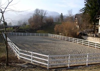 Pvc horse fence 2