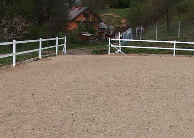 Pvc horse fence 4