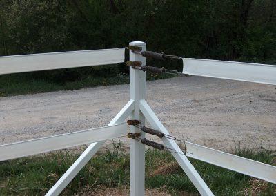 Pvc horse fence 6