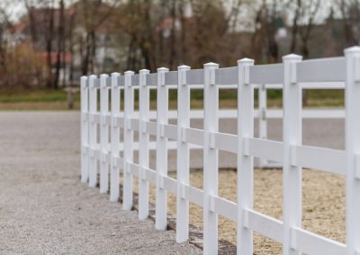 Pvc horse fence 7