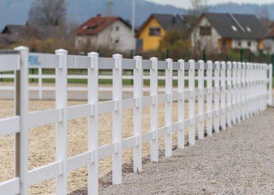 Pvc horse fence 9